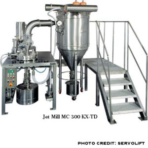 image of a jet mill