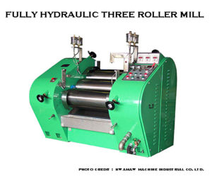image of Fully Hydraulic Three Roller Mill