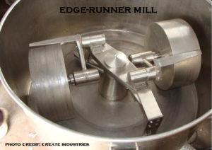 image of an edge-runner mill