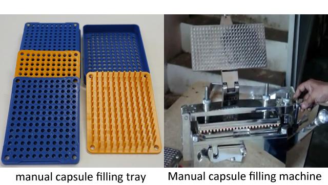 Encapsulators-image of a manual capsule filling machine