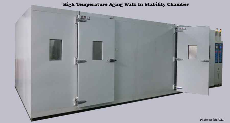 Stability analysis-High Temperature Aging Walk In Stability Chamber